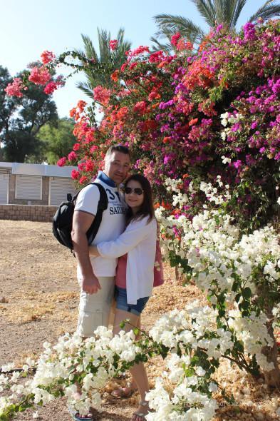 Алексей Зимин и Екатерина Зимина в Израиле 2016