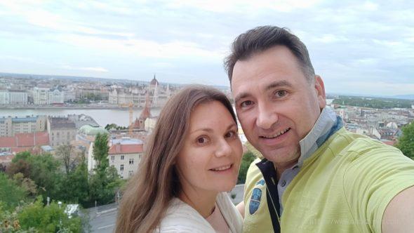 Алексей Зимин и Екатерина Зимина в Будапеште сентябрь 2017