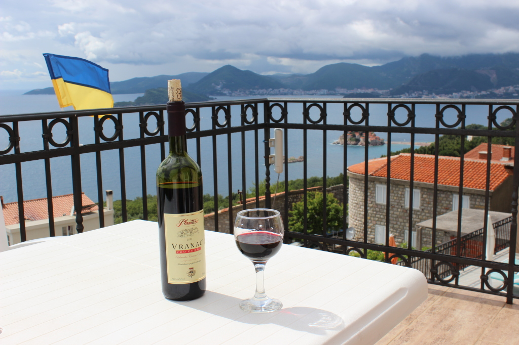 Отдых в Черногории. Первый день