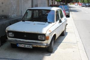 Старая машина в Цетинье
