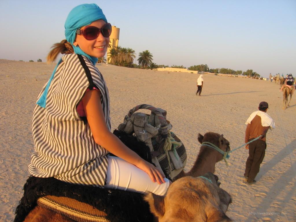 Тунис, пустыня Сахара