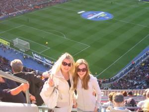 Барселона на футболе