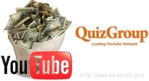 Партнерская программа от QuizGroup - купюры с долларами