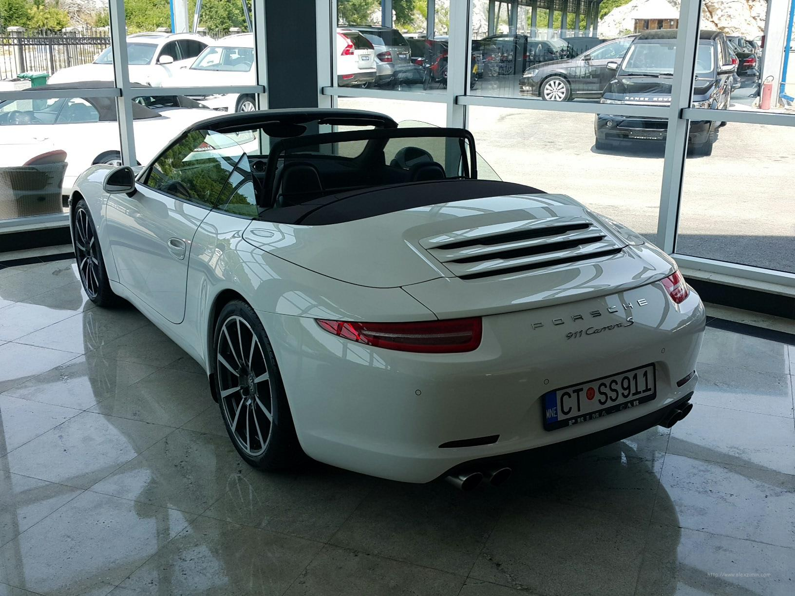 аренда авто в Черногории Porsche 911 Carrera S