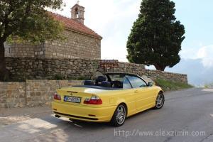 Аренда авто в Черногории - кабриолет задом