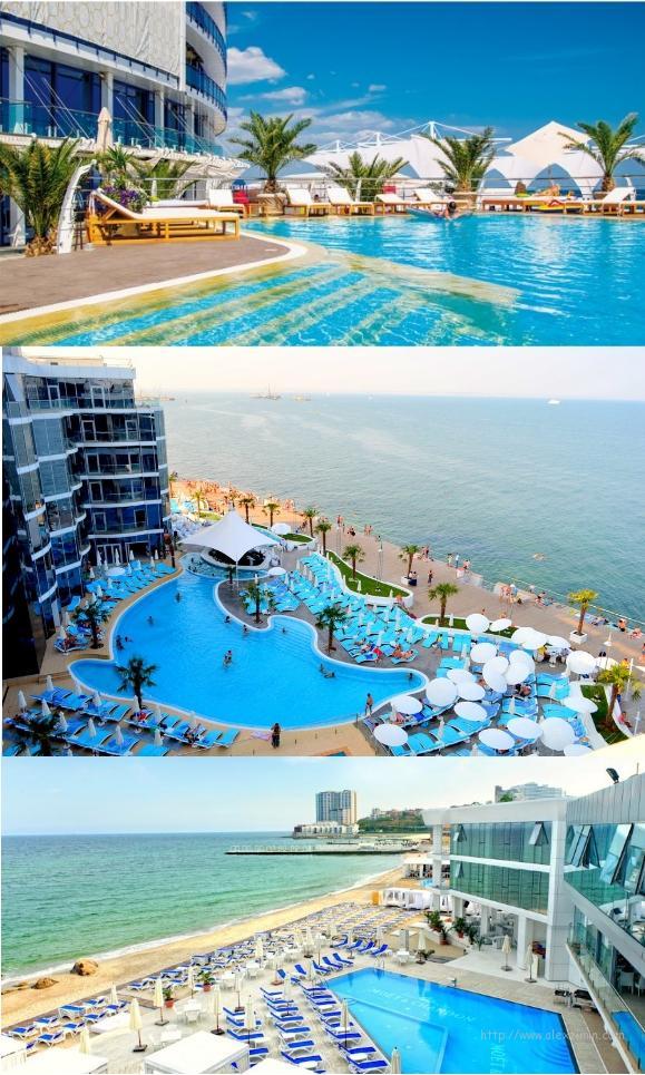 Отели Одессы на берегу моря VIP-уровня: Maristella Marine Residence, Немо и Portofino