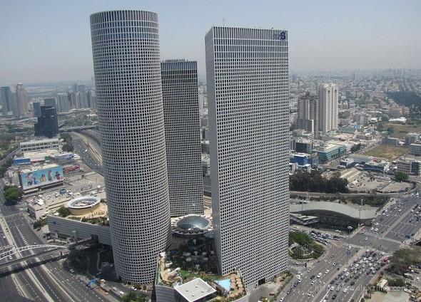 Башни Азриэли в Тель-Авиве Израиль