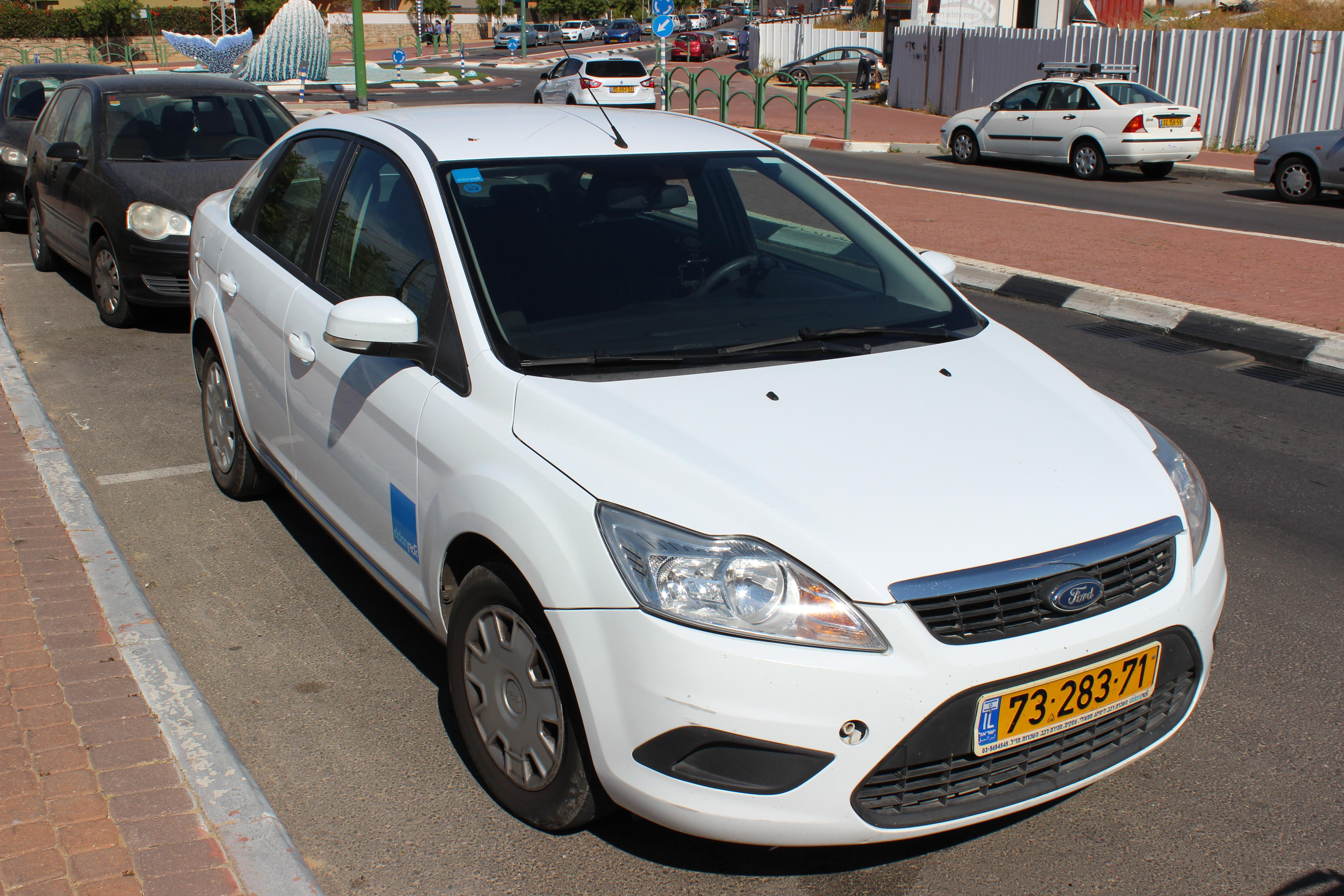 Аренда авто в Израиле Форд Фокус прокатная контора Элдан