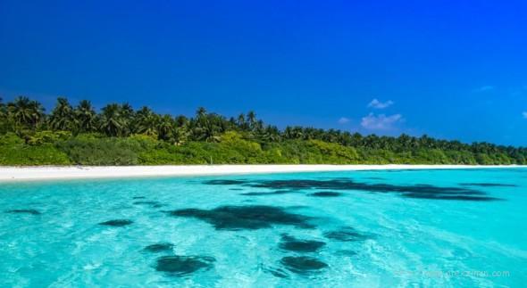 Пляж острова Фуладу