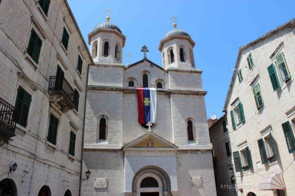 Одна из достопримечательностей Котора - церковь Святого Николая