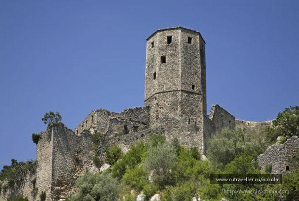 Крепость Почитель в Боснии и Герцеговине