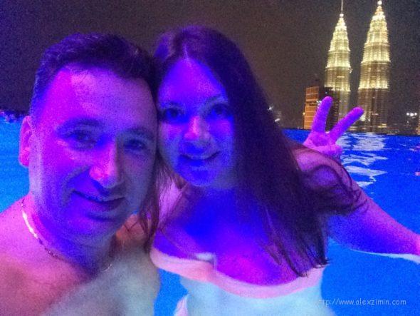 Алексей Зимин в отеле THE FACE Suites PLATINUM