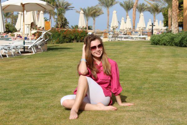 Анастасия Зимина в Египте