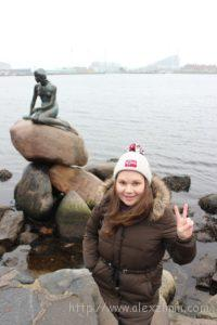Екатерина Зимина в Копенгагене