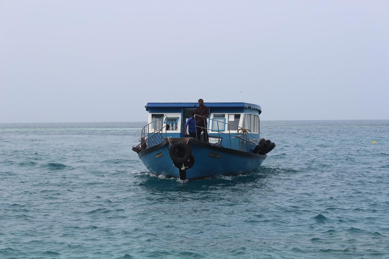 Паром на Мальдивах Тодду - Рашдо - Укулхас
