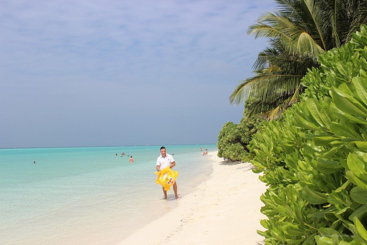 Мальдивы. Пляж острова Тодду (Thodoo beach)
