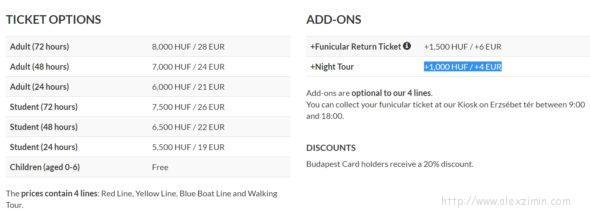 Сколько стоит экскурсионный автобус в Будапеште