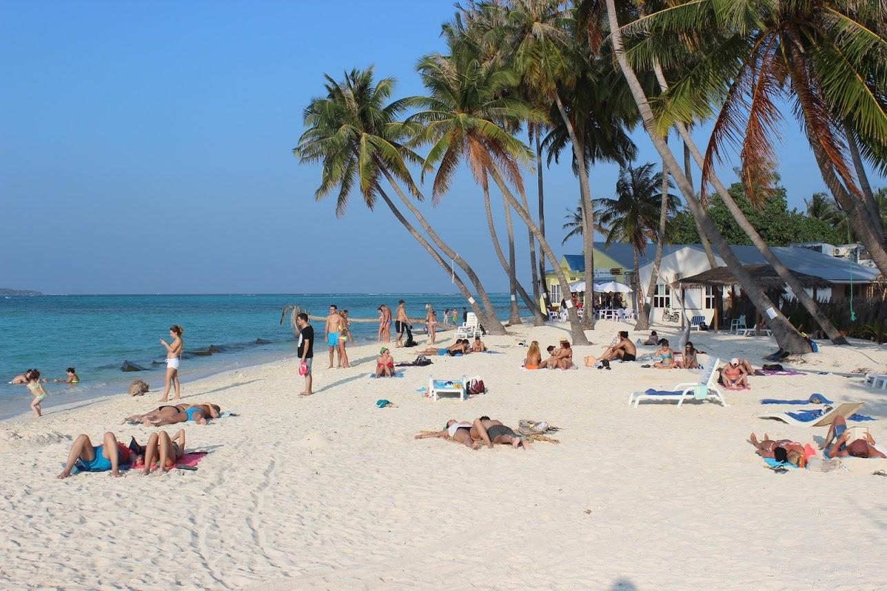Бикини пляж на Маафуши