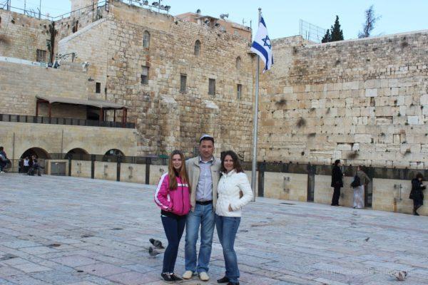 Зимины в Израиле январь 2015