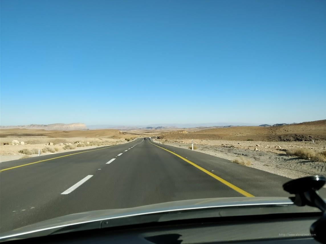 Дороги в Израиле. По дороге в Эйлат