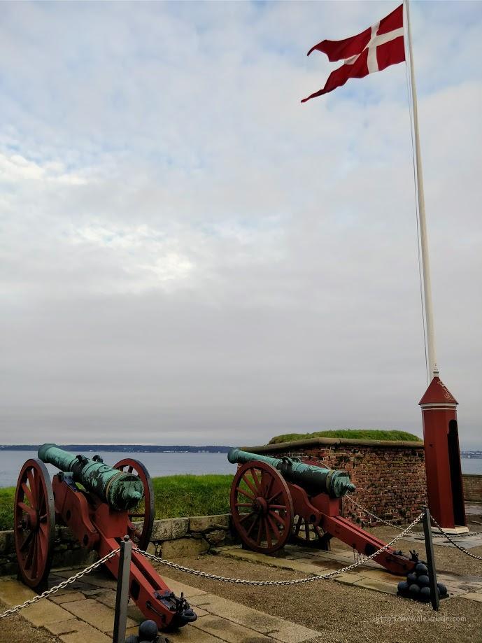 Куда поехать на машине в Дании. Замок Кронборг