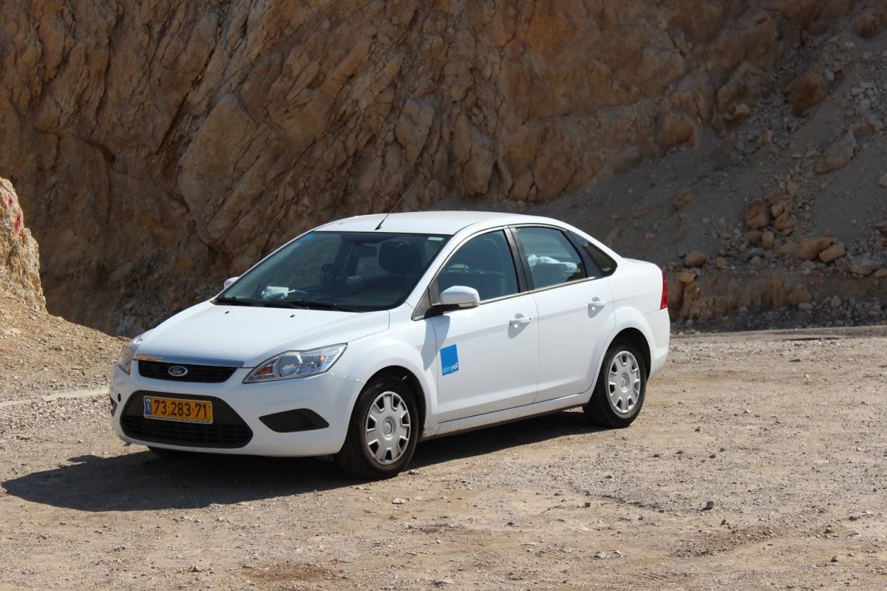 Отзыв об аренде автомобиля Форд Фокус в Израиле