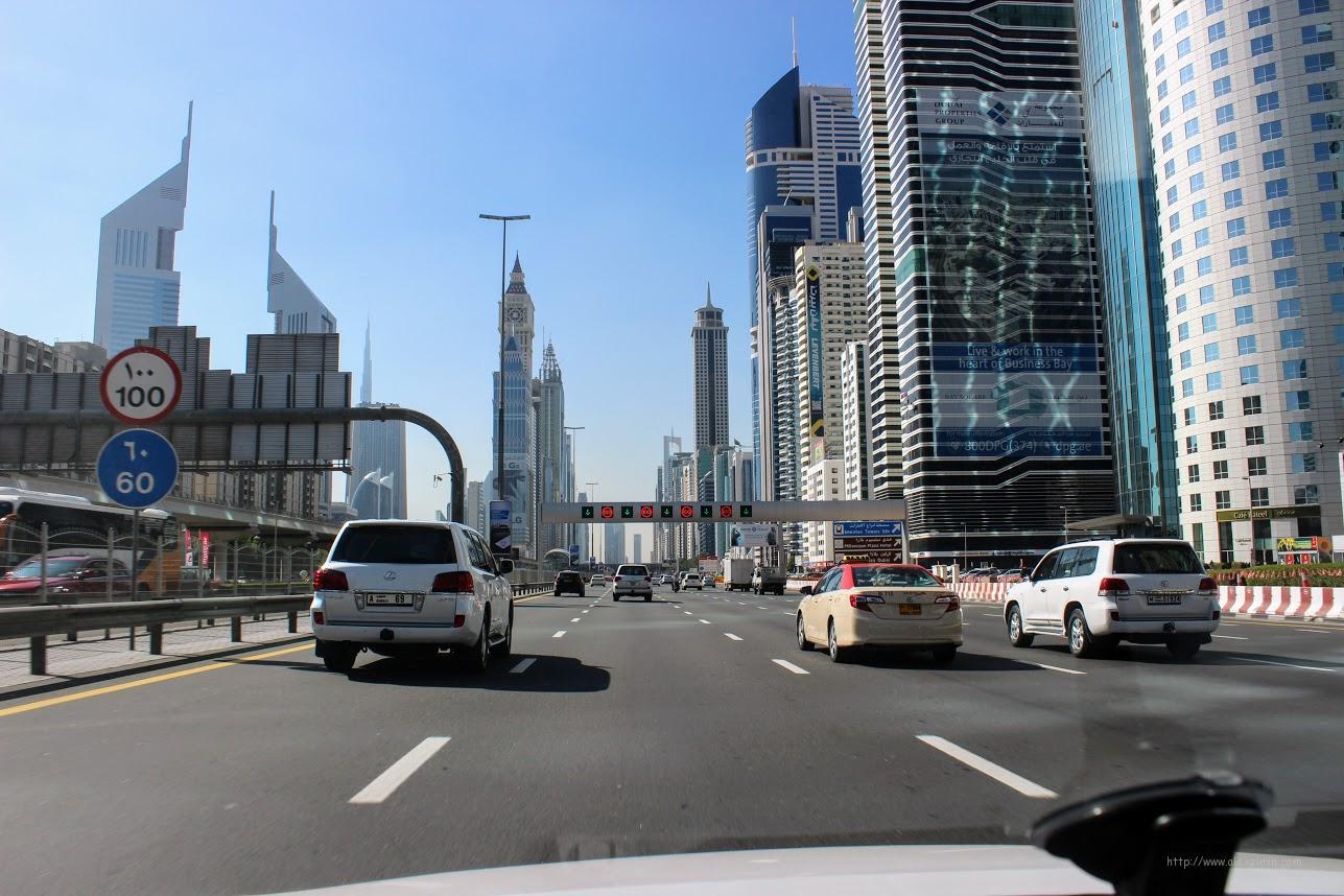 Эмираты. Лучшие в мире дороги. Шейх Зайед Роуд