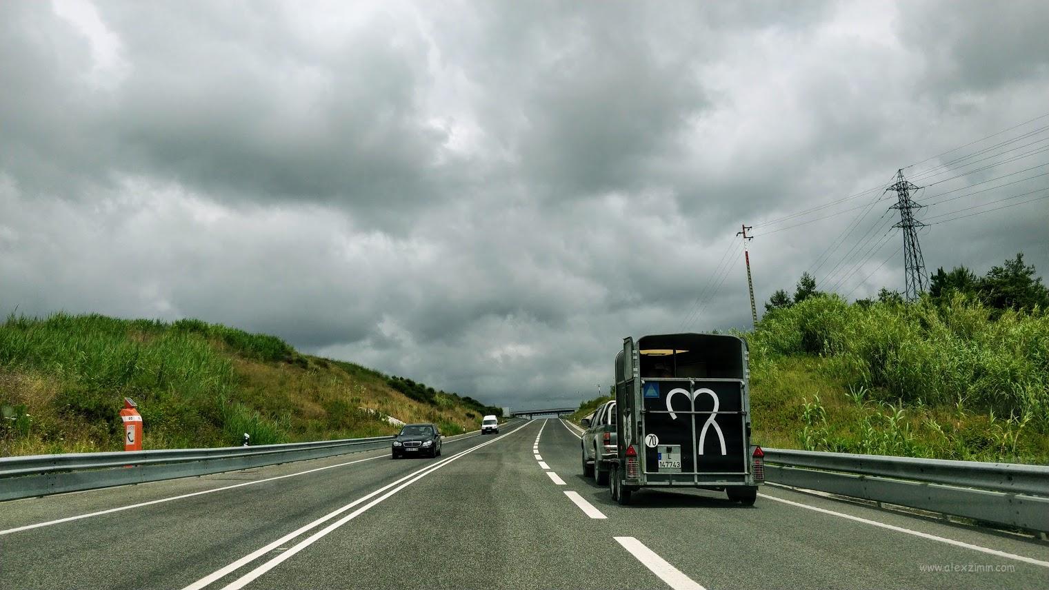 Идеальные дороги в Португалии