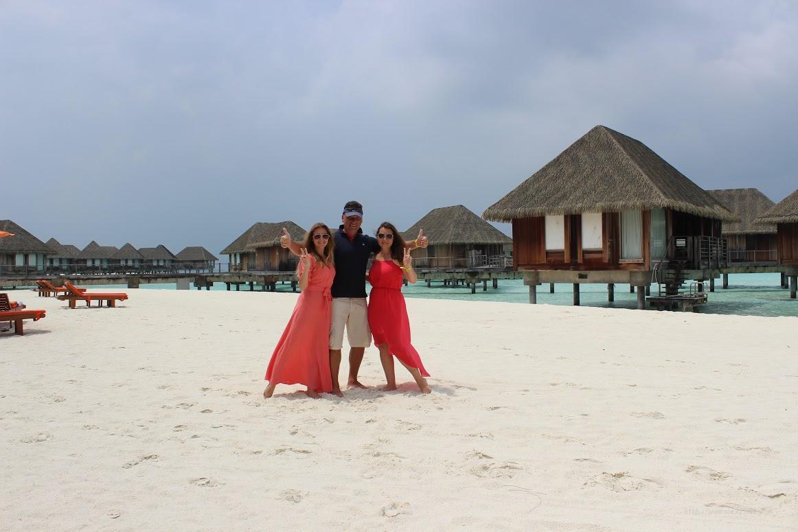 Мальдивы Дешево Алексей Зимин с семьей февраль 2018