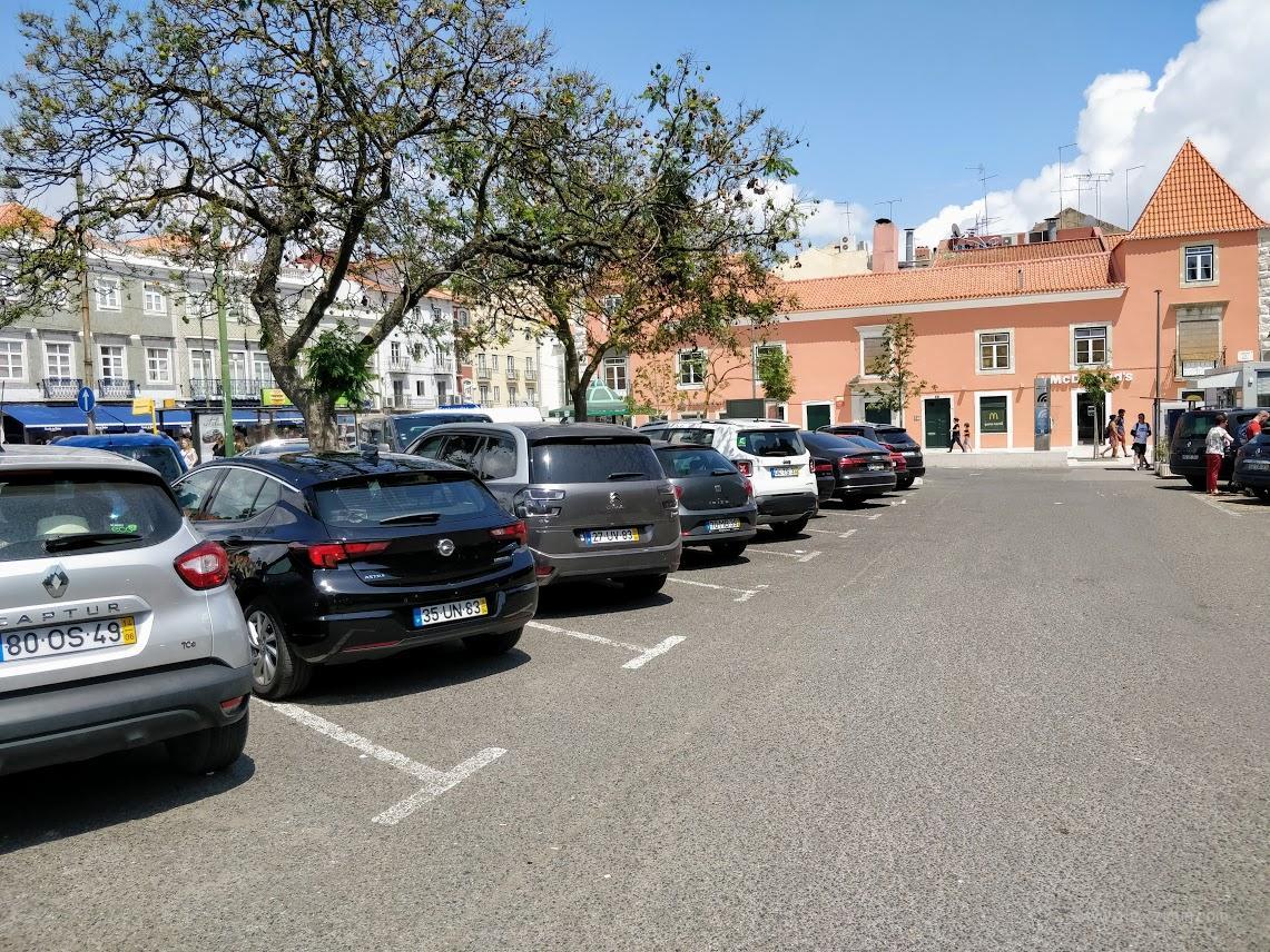 Платная парковка в Лиссабоне
