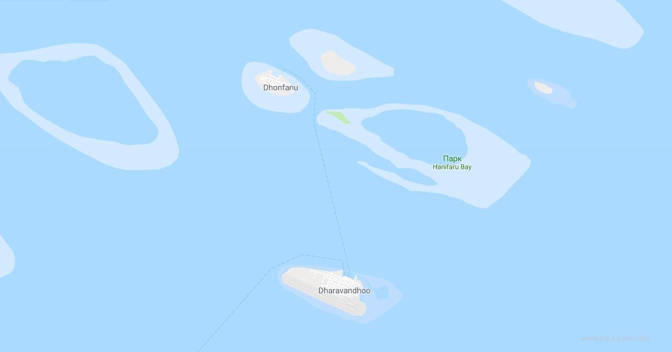 ОСТРОВ ДАРАВАНДУ и заповедник Hanifaru Bay