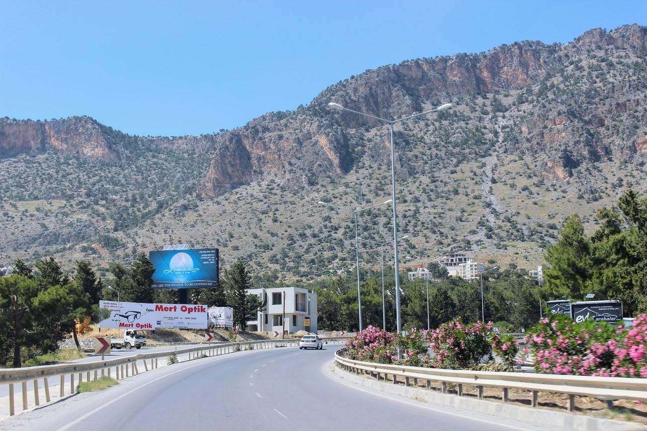 Аренда авто на Кипре. Дороги на Северном Кипре