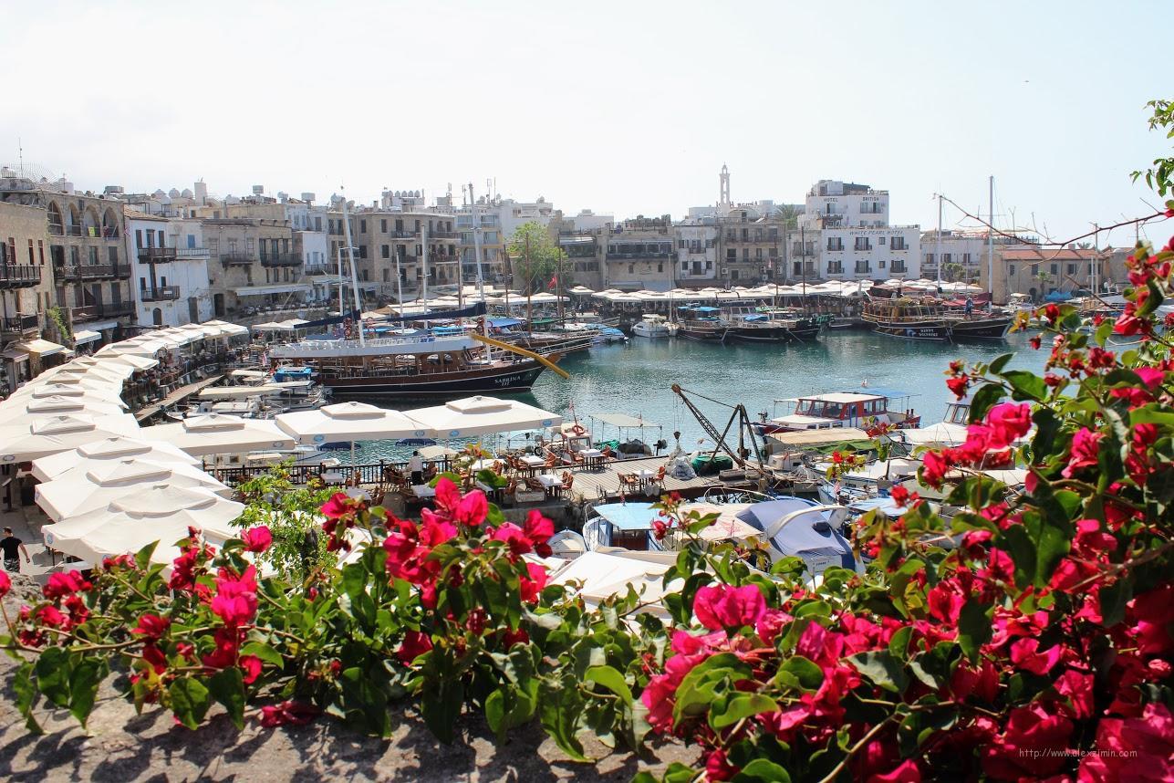 Северный Кипр. Вид из Керинийской крепости