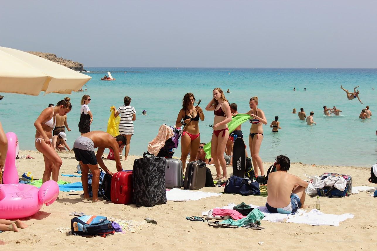 Айя Напа пляж