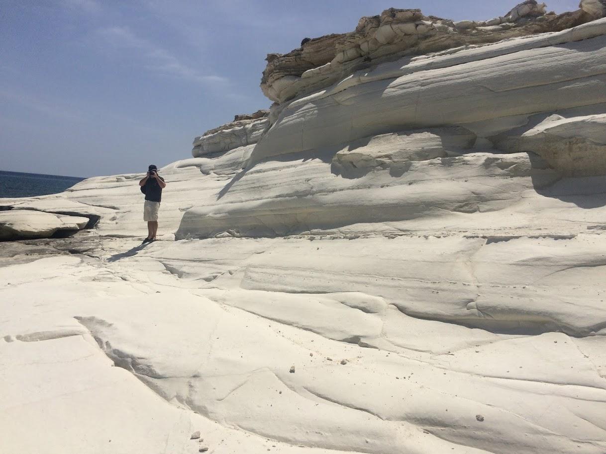 Белые скалы недалеко от Лимасола