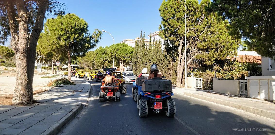 Багги и квадроциклы на Кипре