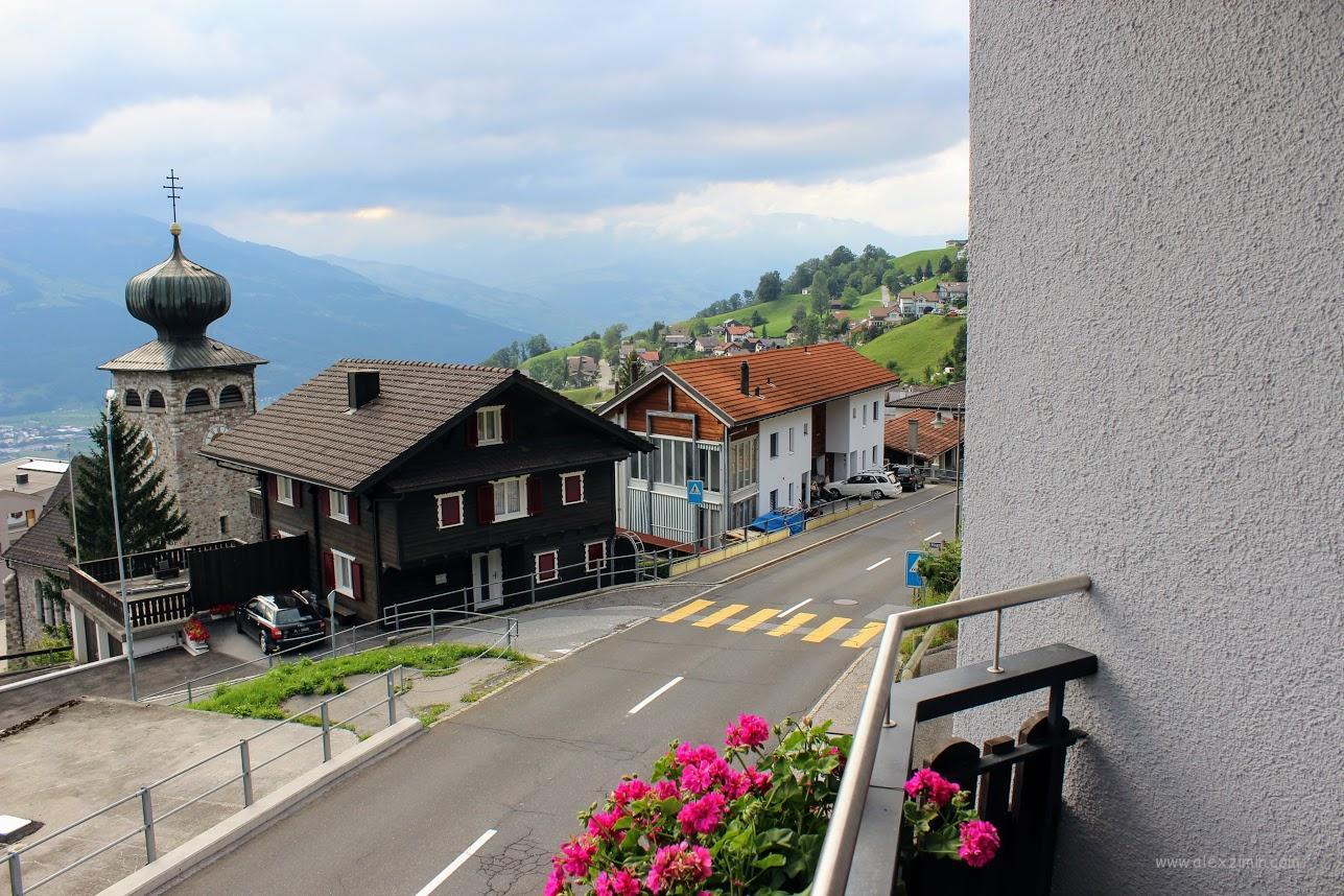 Дороги в Швейцарии и Лихтенштейне
