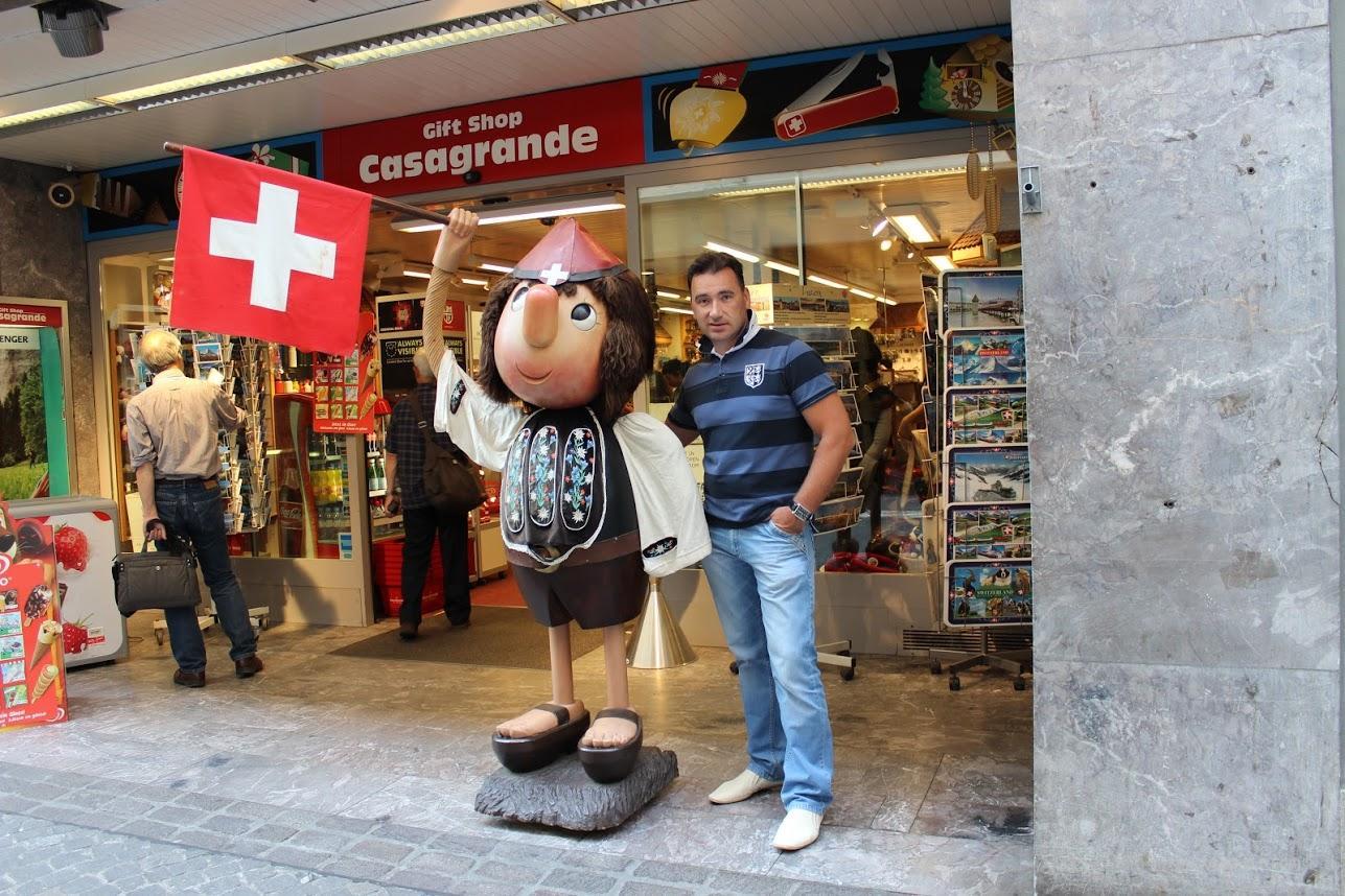 Алексей Зимин в Швейцарии