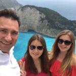 Алексей Зимин с семьей в Греции 2018 остров Закинф
