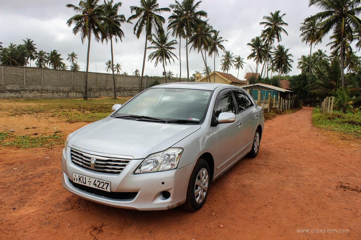 Аренда авто на Шри Ланке. Машина, которую мы арендовали в Коломбо