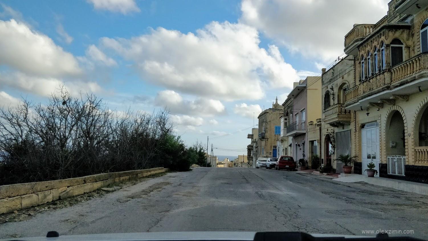Дороги на Мальте. Остров Гоцо