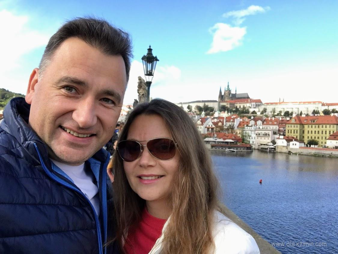 Алексей Зимин и Екатерина Зимина. Прага Чехия 2018