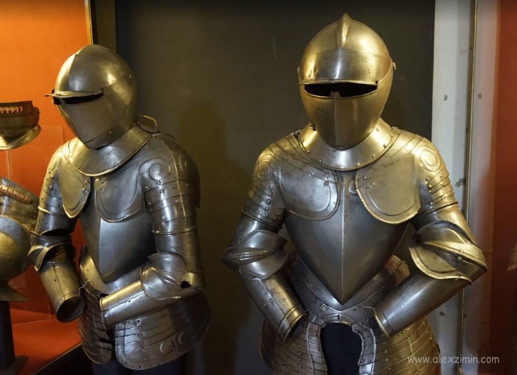 Доспехи мальтийских рыцарей