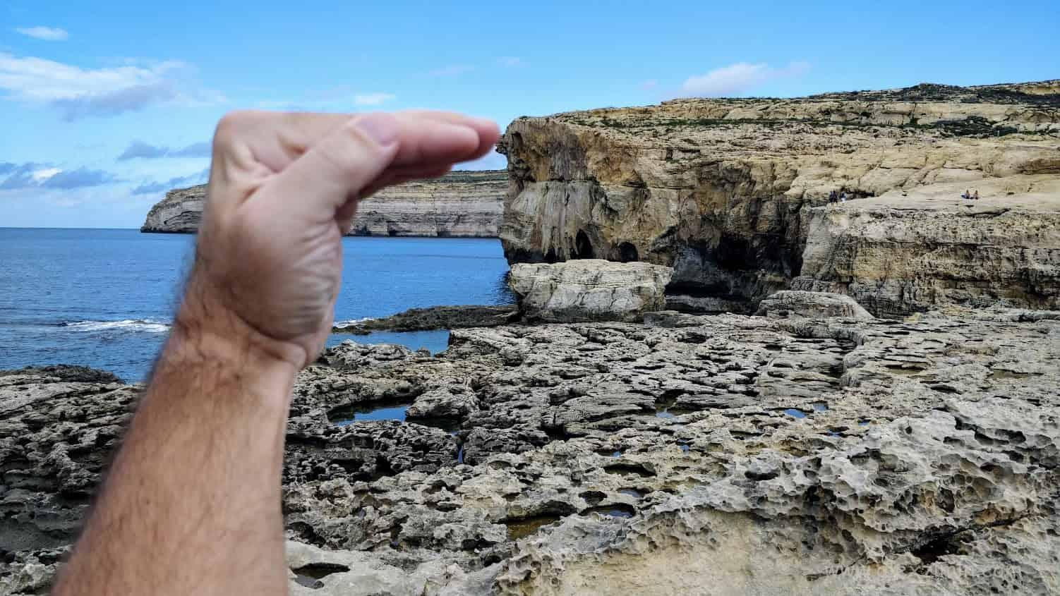 Остров Гозо. Раньше здесь было лазурное окно