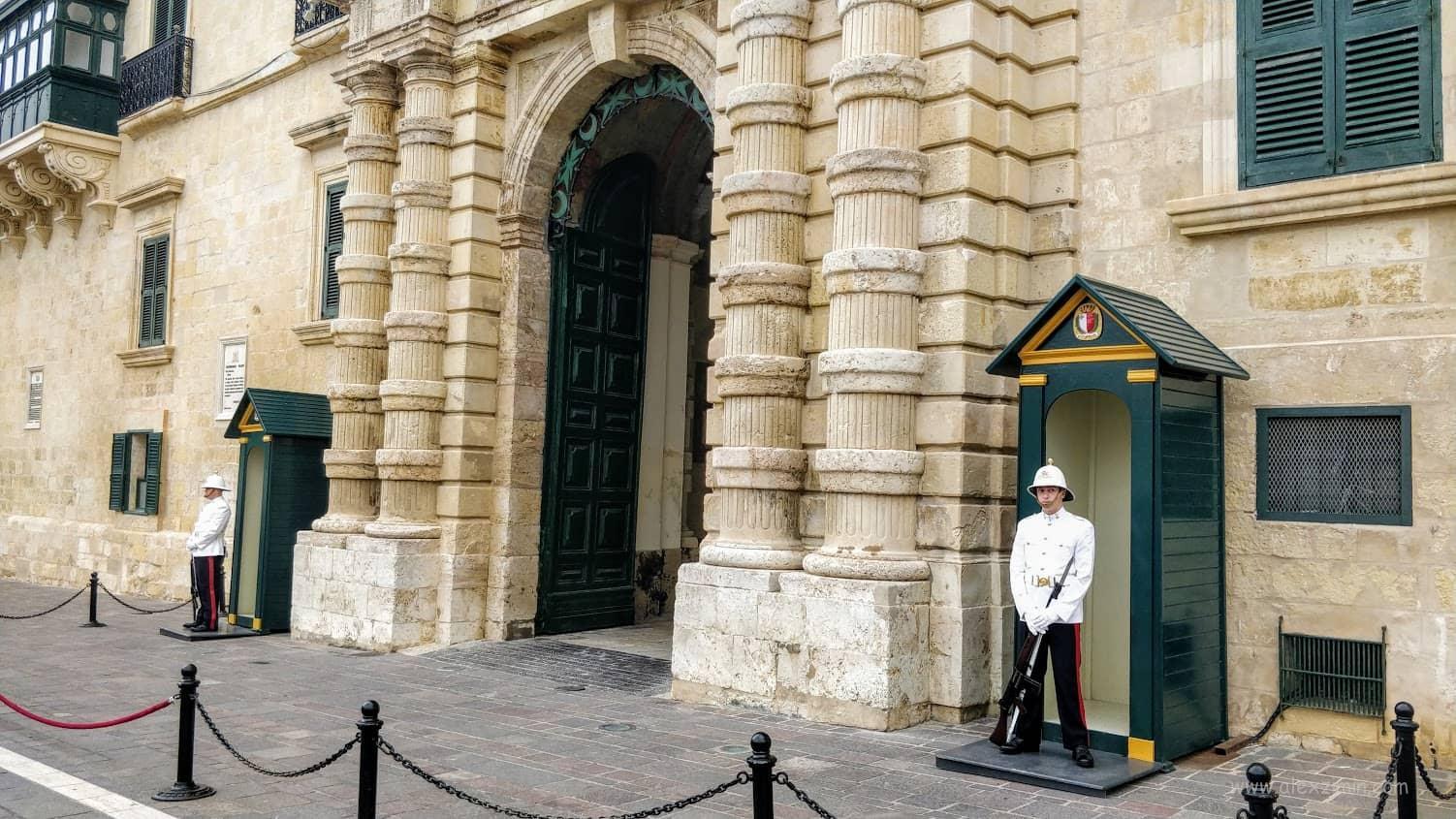 Дворец Президента Мальты в Валетте