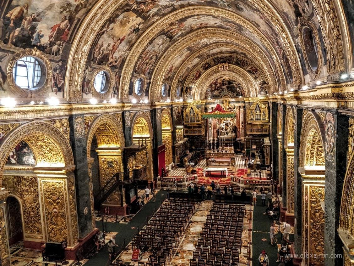 Кафедральный собор Святого Иоанна внутреннее убранство