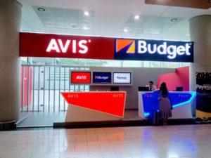 Прокатчики Avis и Budget в аэропорту Ларнака