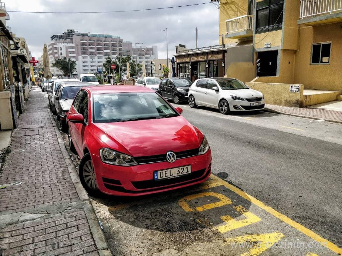Аренда авто на Мальте. Буджиба