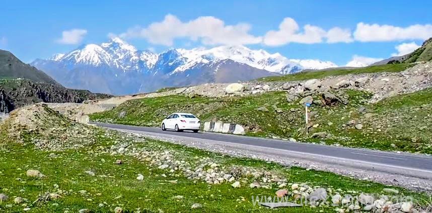 Аренда авто в Грузии. Едем в горы
