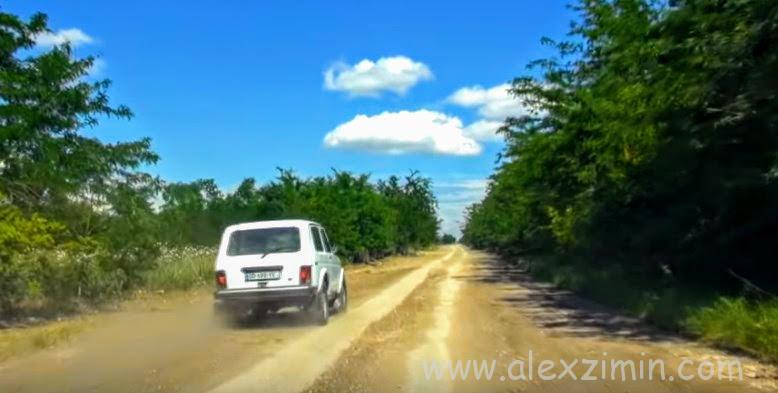 На дороге в Грузии